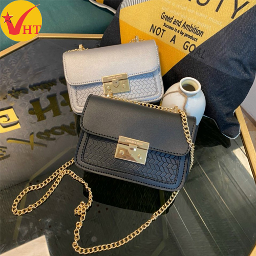 Túi xách thời trang MIU vân đan